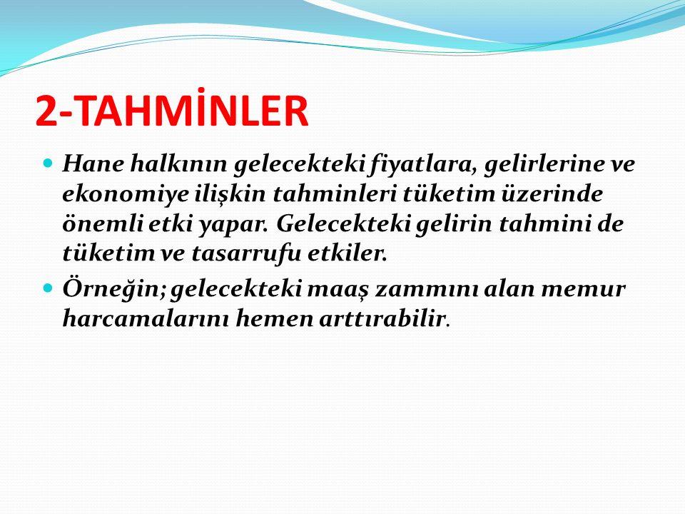 2-TAHMİNLER