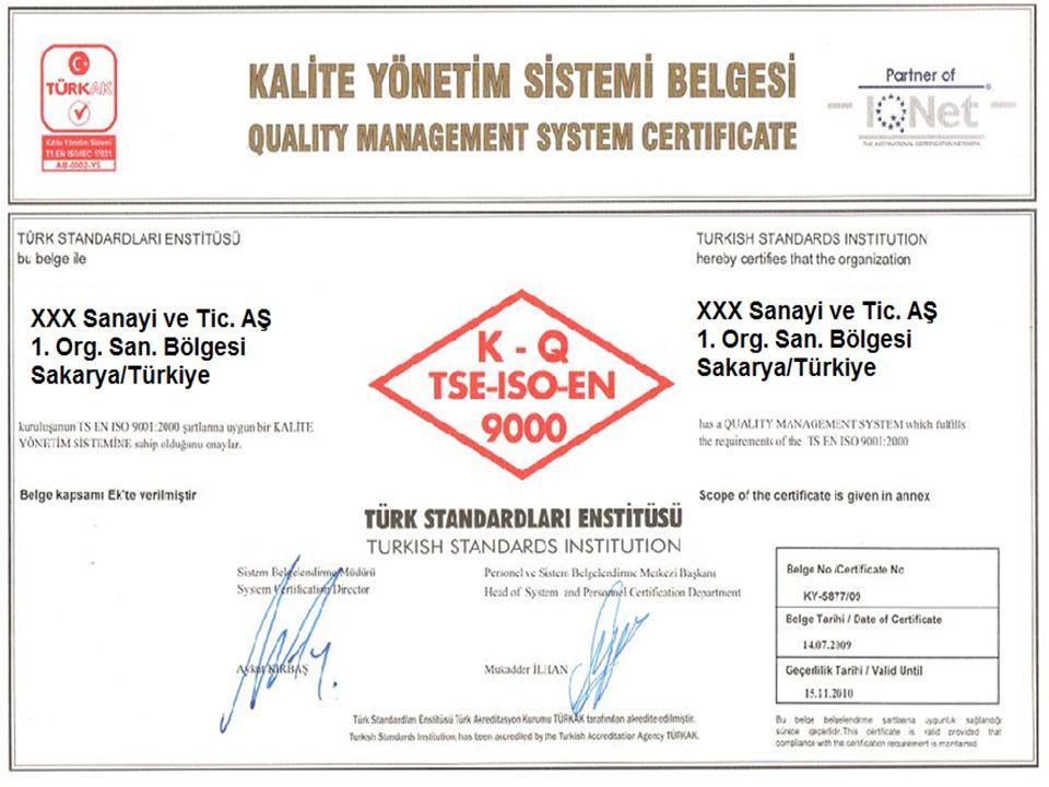 ISO 9000 : 2000 Revizyonunun Sebepleri ISO 1997'de 2000 yılındaki revizyonda neler yapılması gerektiğini belirlemek için dünya çapında 1120 kurum ve kuruluşu kapsayan geniş çaplı bir anket uygulamıştır.