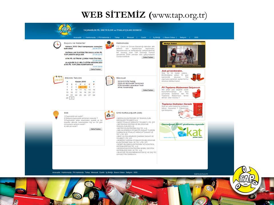 WEB SİTEMİZ (www.tap.org.tr)