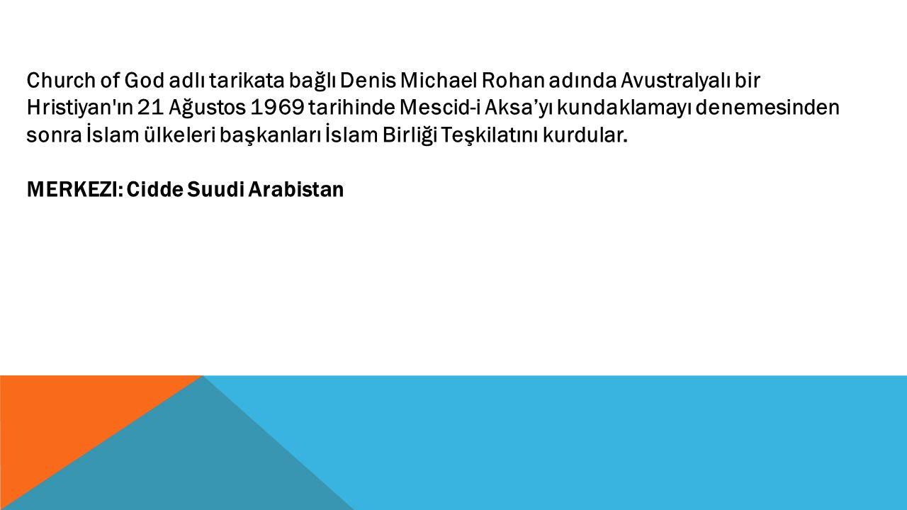 İslami Kalkınma Bankası (IDB) İslami Kalkınma Bankası İslami Eğitim, Bilim ve Kültürel Organizasyonu (ISESCO) İslami Eğitim, Bilim ve Kültürel Organizasyonu İslami Devletler Yayın Organizasyonu (ISBO) İslami Devletler Yayın Organizasyonu Uluslararası İslam Haber Ajansı (IINA)Uluslararası İslam Haber Ajansı UZMANLAŞMIŞ KURUMLAR:
