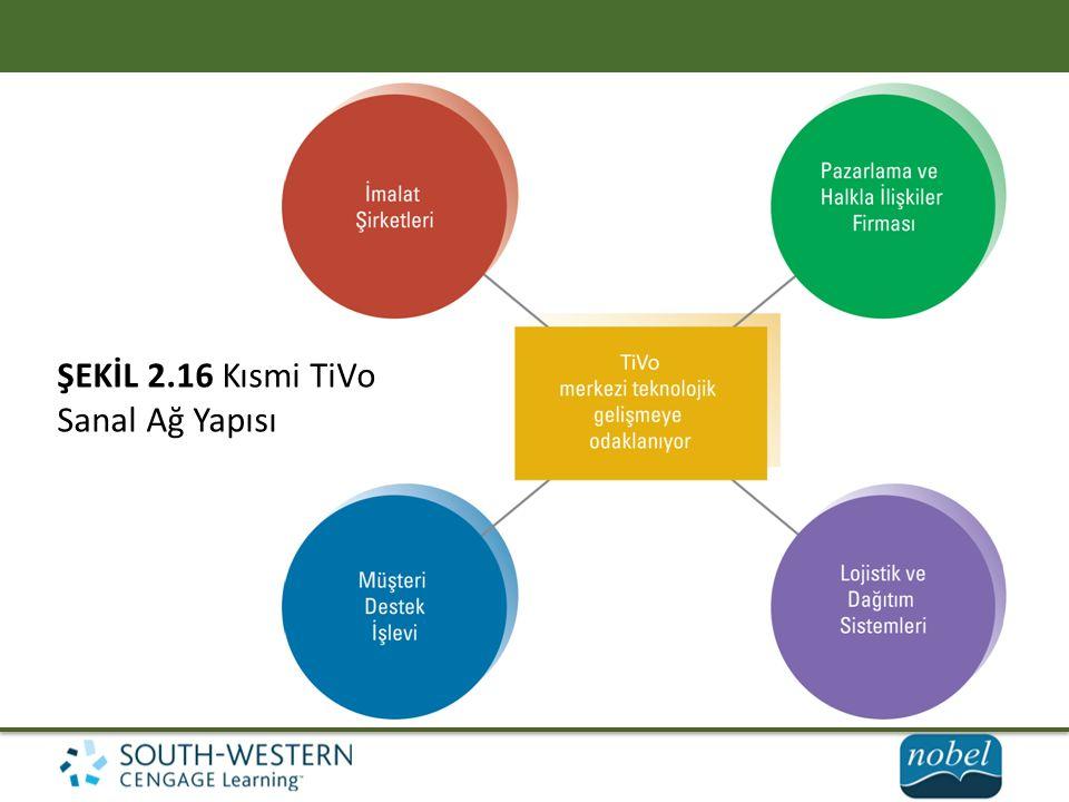 ŞEKİL 2.16 Kısmi TiVo Sanal Ağ Yapısı