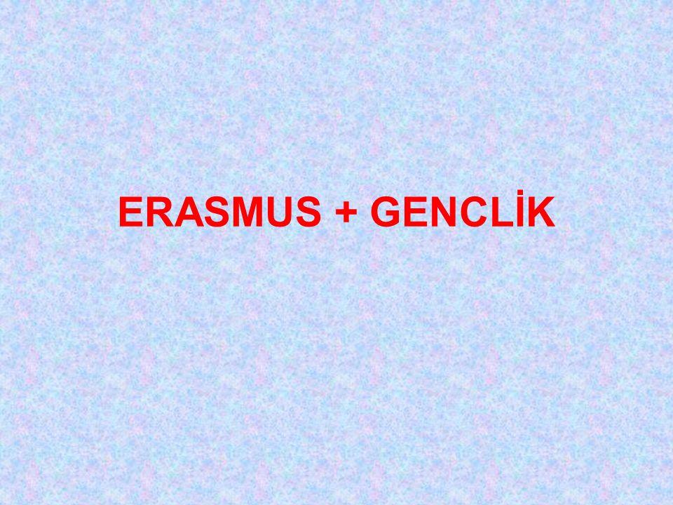 ERASMUS + GENCLİK