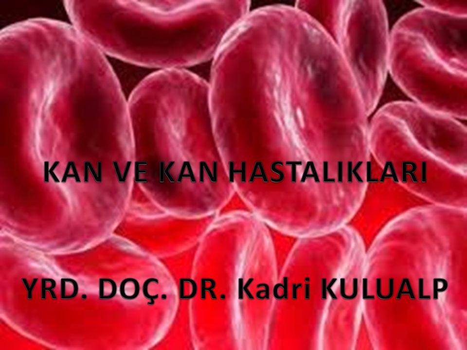 KANIN YAPISI VE ELEMANLARI Kan, kardiyovasküler sistem içerisinde dolaşan ve çok hücreli organizmalarda birçok yaşamsal fonksiyonu yerine getiren vücudumuzun hayati sıvısıdır.