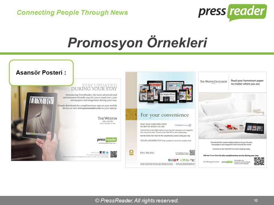 © PressReader. All rights reserved. 10 Connecting People Through News Asansör Posteri :