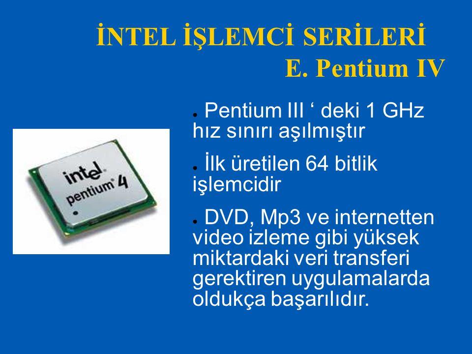 birde… Intelin 2010 akıllı işlemci ailesi içinde lanse ettiği işlemciler core i3 1156 soket fiziksel 2 sanal 4 çekirdek core i5 1156 soket fiziksel 4 çekirdek core i7 8xx serisi 1156 soket fiziksel 4 sanal 8 çekirdek core i7 9xx serisi 1366 soket fiziksel 4 sanal 8 çekirdek core i7 980x 1366 soket fiziksel 6 sanal 12 çekirdek.