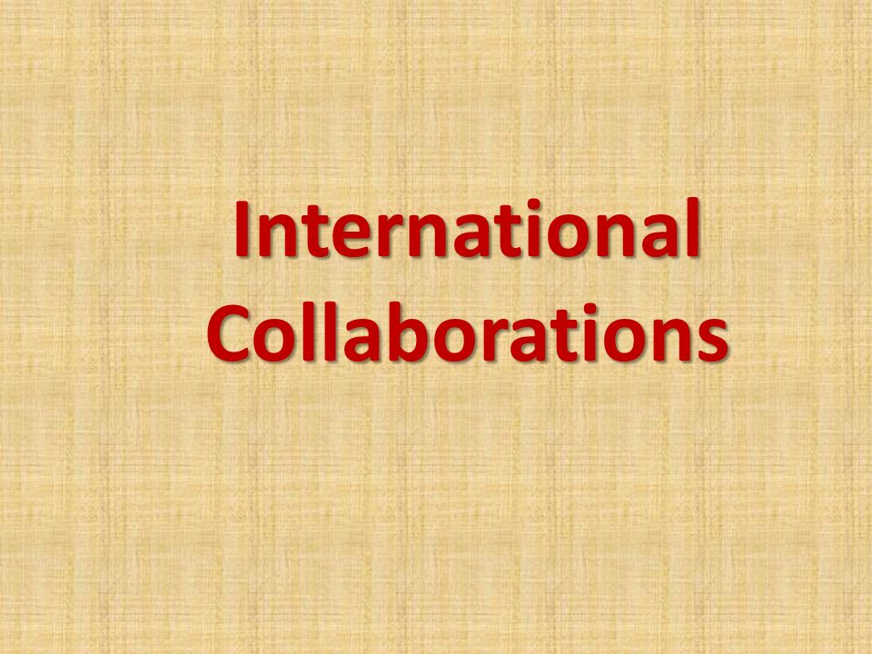 InternationalCollaborations