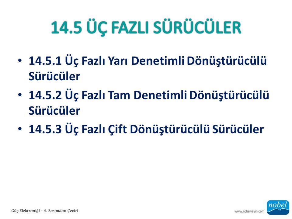 14.5.1 Üç Fazlı Yarı Denetimli Dönüştürücülü Sürücüler 14.5.2 Üç Fazlı Tam Denetimli Dönüştürücülü Sürücüler 14.5.3 Üç Fazlı Çift Dönüştürücülü Sürücüler