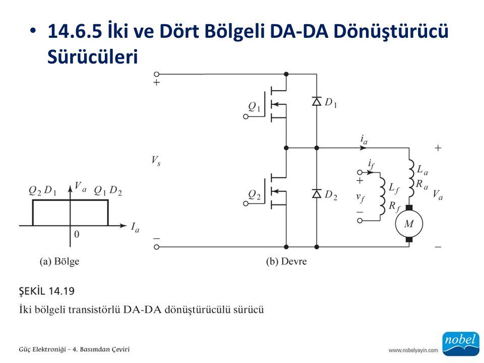 14.6.5 İki ve Dört Bölgeli DA-DA Dönüştürücü Sürücüleri