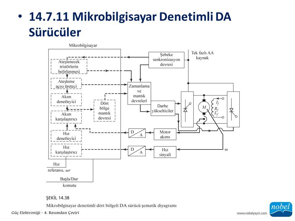 14.7.11 Mikrobilgisayar Denetimli DA Sürücüler