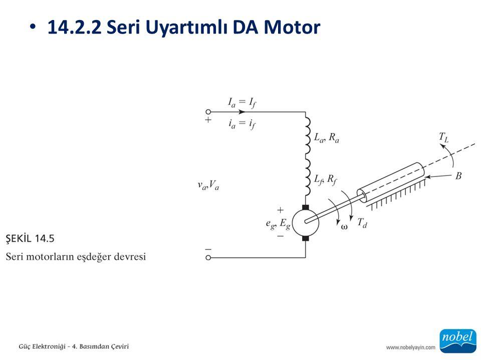 14.2.2 Seri Uyartımlı DA Motor