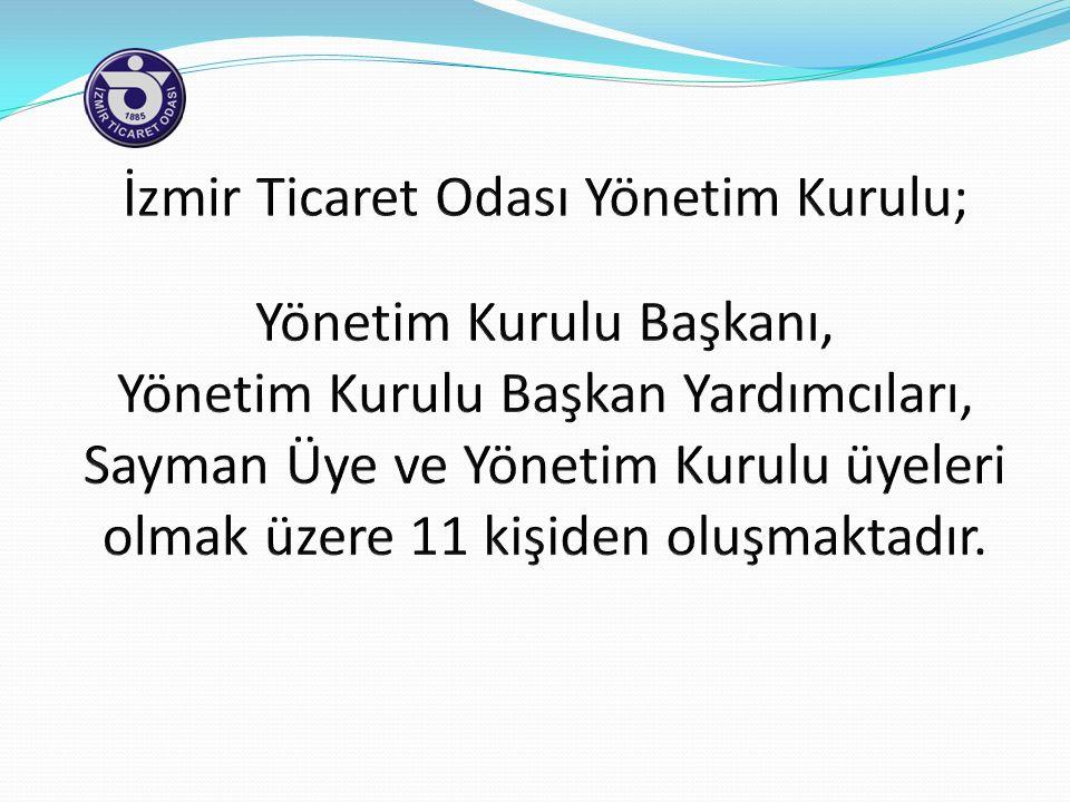 İzmir Ticaret Odası Yönetim Kurulu