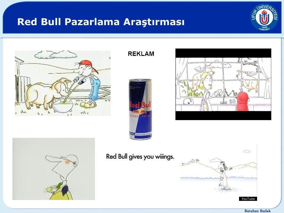 Red Bull Pazarlama Araştırması REKLAM