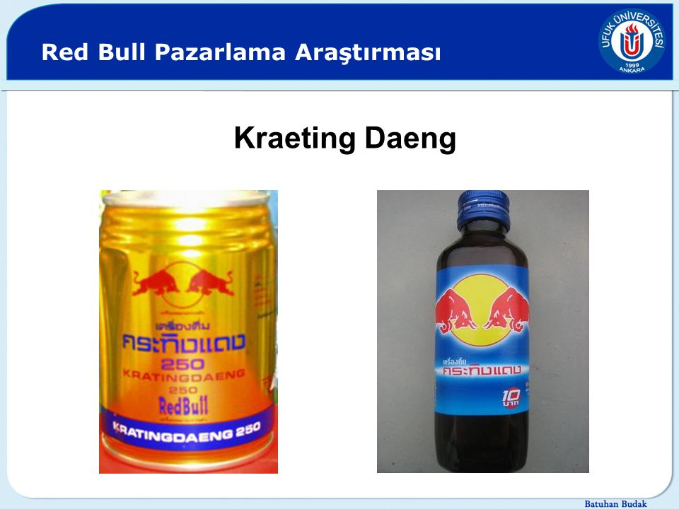 Red Bull Pazarlama Araştırması Kraeting Daeng