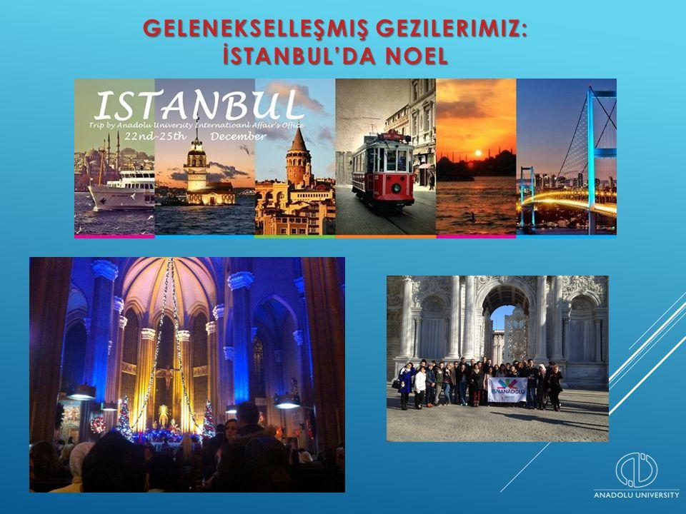 GELENEKSELLEŞMIŞ GEZILERIMIZ: İSTANBUL'DA NOEL