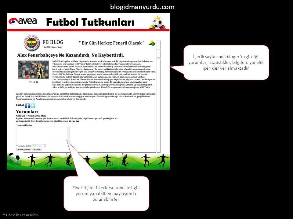 blogidmanyurdu.com İçerik sayfasında bloger'ın girdiği yorumlar, istatistikler, bilgilere yönelik içerikler yer almaktadır * Görseller temsilidir Ziya