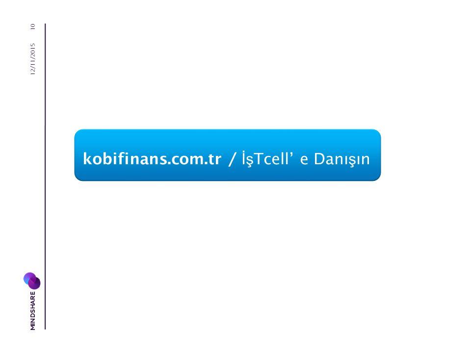 kobifinans.com.tr / İş Tcell' e Danı ş ın 12/11/2015 10