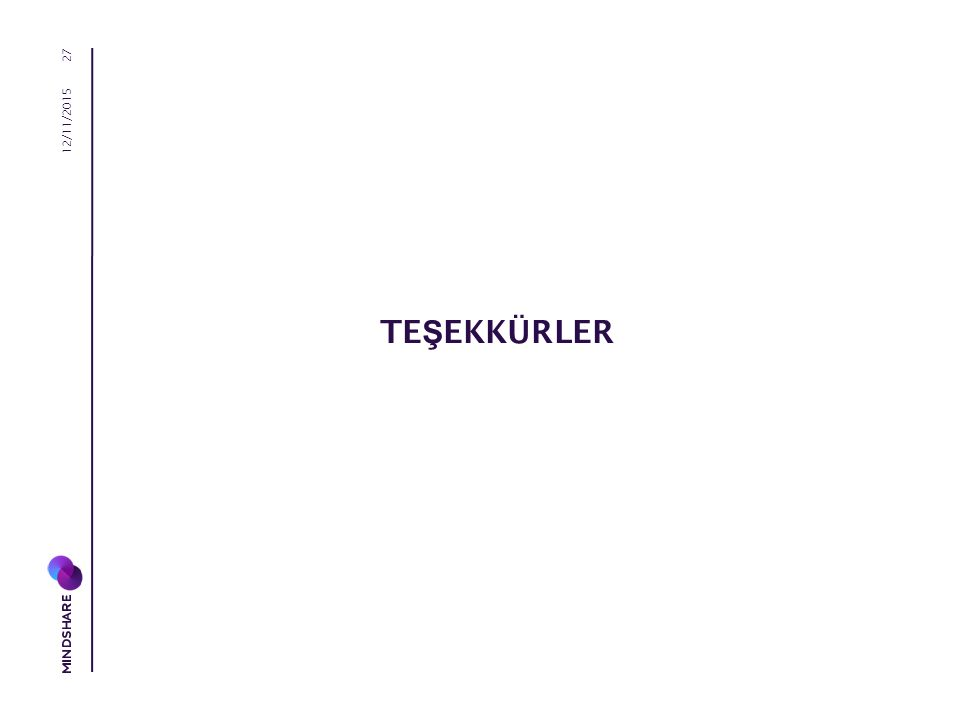 TE Ş EKKÜRLER 12/11/2015 27