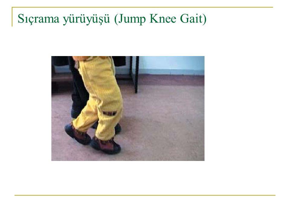 Sıçrama yürüyüşü (Jump Knee Gait)