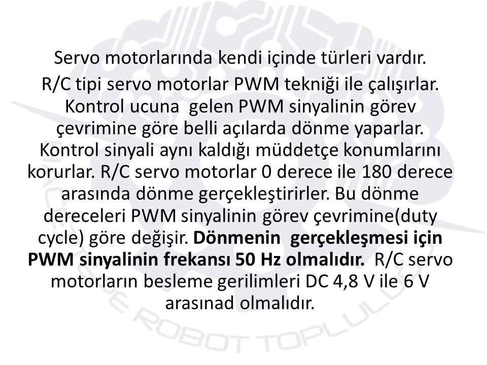 SERVO MOTOR KONTROLÜ