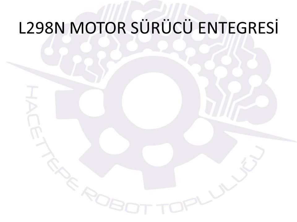 DC MOTOR KONTROLÜ
