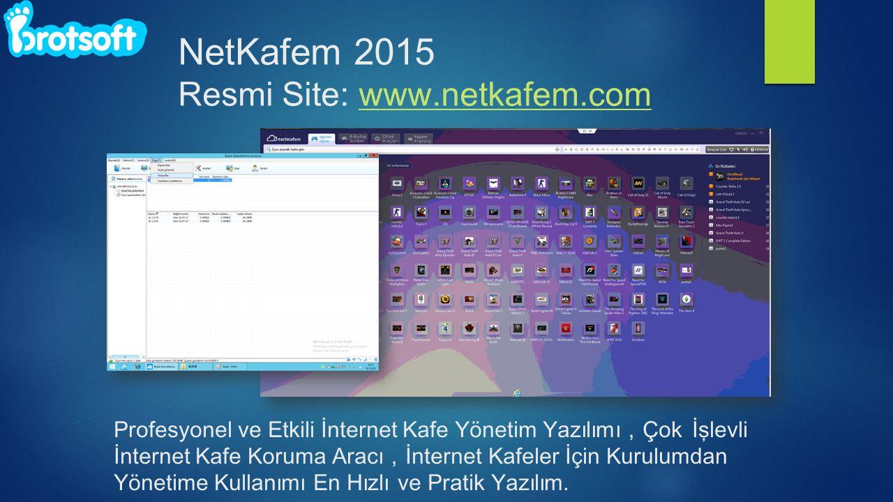 Profesyonel ve Etkili İnternet Kafe Yönetim Yazılımı , Çok İşlevli İnternet Kafe Koruma Aracı , İnternet Kafeler İçin Kurulumdan Yönetime Kullanımı En Hızlı ve Pratik Yazılım.