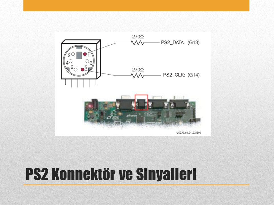 PS2 Konnektör ve Sinyalleri