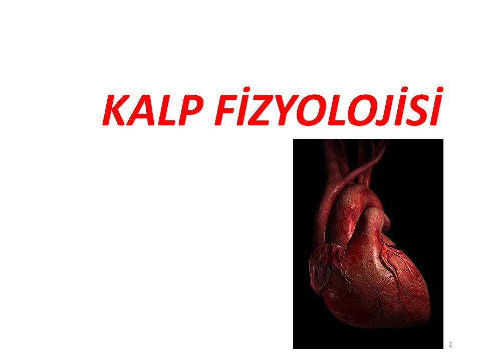 Kalp Fonksiyonları Kan damarları yoluyla oksijeni ve bağırsaklarda emilen besin maddelerini dokulara iletir Metabolizma sonucu oluşan artık maddeler ve CO 2 'nin dokulardan uzaklaştırılmasında rol oynar Vücut sıcaklığının düzenlenmesine katılır Hormonların salgılandıktan sonra etki yerlerine ulaştırılmasında yer alır Tüm bu işlevleri yaparken kalp, kan damarlarından oluşan sistemik dolaşımı ve pulmoner dolaşımı kullanır 3