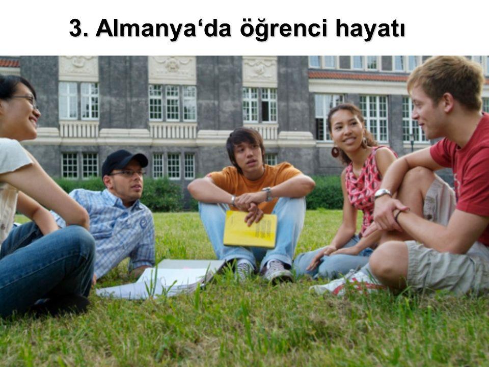 Titel der Präsentation   Seite 15 3. Almanya'da öğrenci hayatı 3. Almanya'da öğrenci hayatı