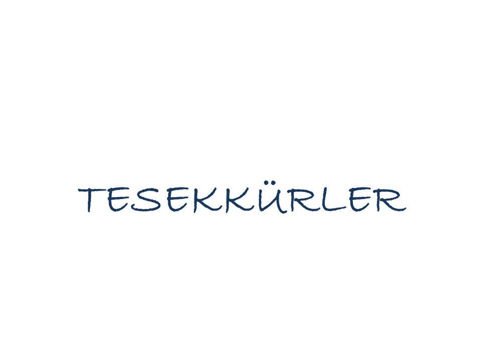 TESEKKÜRLER