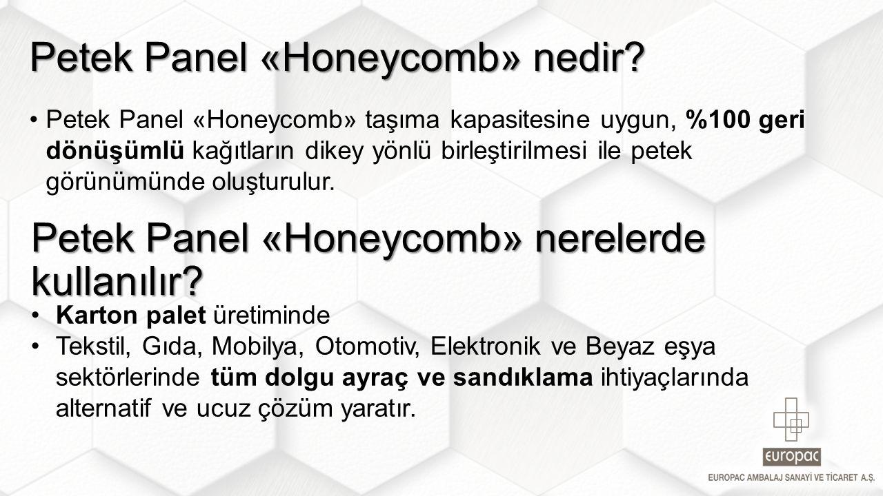 Petek Panel «Honeycomb» nedir? Petek Panel «Honeycomb» nerelerde kullanılır?
