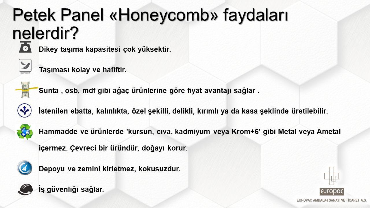 Petek Panel «Honeycomb» faydaları nelerdir?