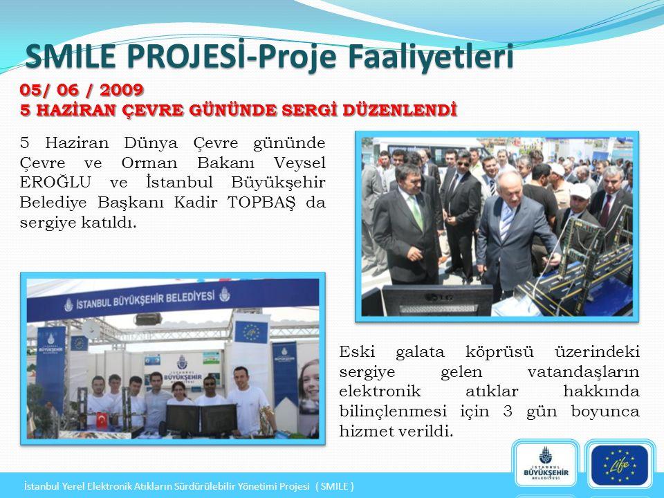 5 Haziran Dünya Çevre gününde Çevre ve Orman Bakanı Veysel EROĞLU ve İstanbul Büyükşehir Belediye Başkanı Kadir TOPBAŞ da sergiye katıldı.