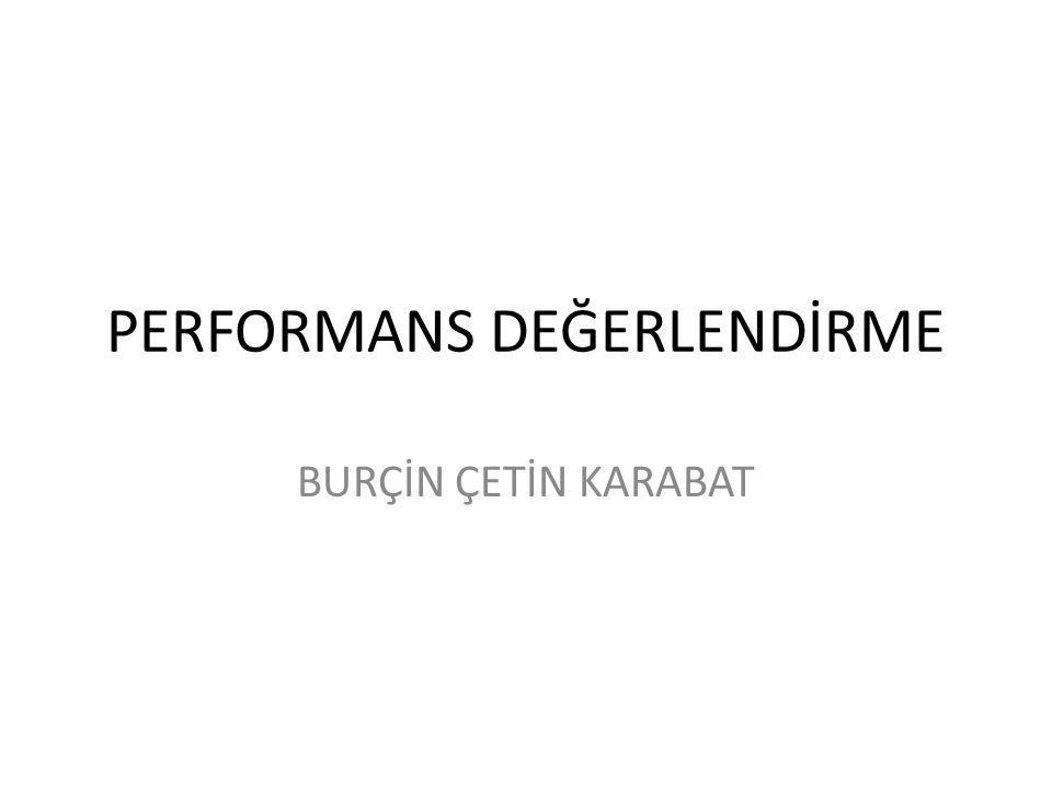 Performans Yönetiminde Çatışma