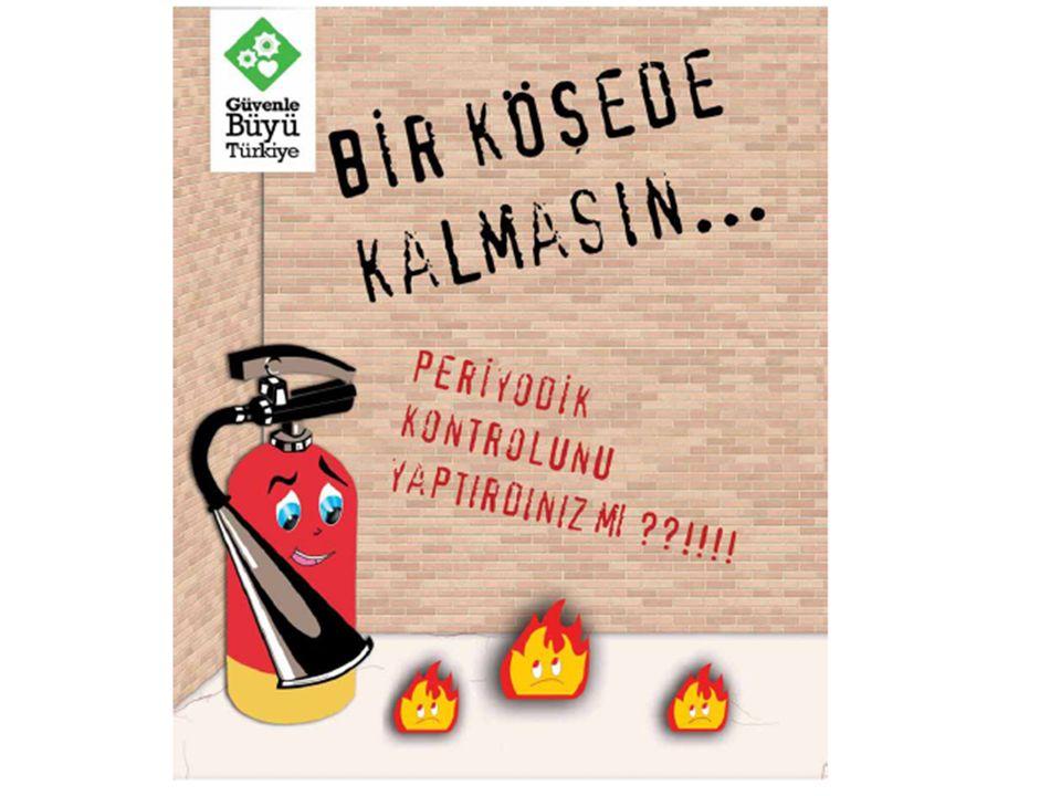 YANGIN SINIFLARI 1.A Sınıfı Yangınlar (Katı Madde Yangınları) 2.B Sınıfı Yangınlar (Sıvı Madde Yangınları) 3.C Sınıfı Yangınlar (Gaz Yangınları) 4.D S