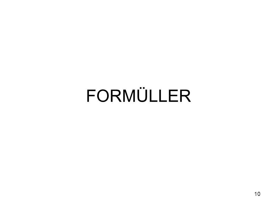 FORMÜLLER 10