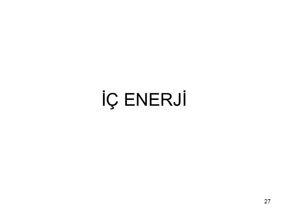 İÇ ENERJİ 27