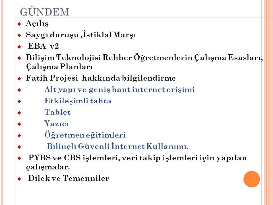 BTR Ç ALıŞMA E SASLARı Yenilik ve Eğitim Teknolojileri Genel Müdürlüğünün 28/09/2012 Tarih ve 16791 Sayılı Yazıları