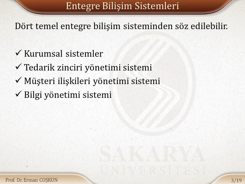 Prof. Dr. Erman COŞKUN İşbirliğinin Gerekleri 14/19