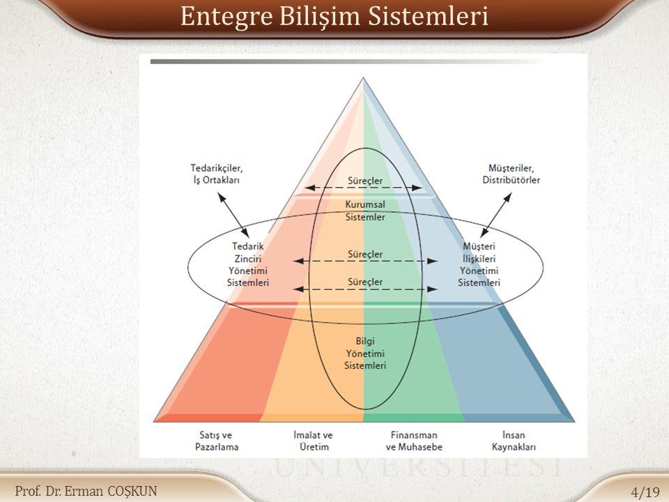 Prof. Dr. Erman COŞKUN Entegre Bilişim Sistemleri 4/19