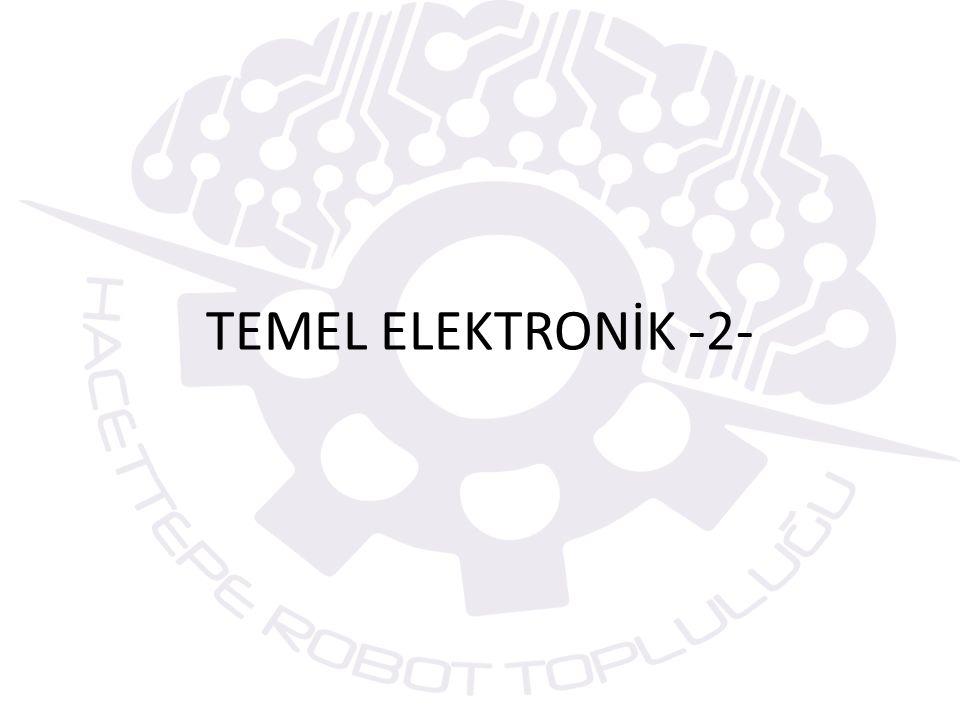 TRANSİSTÖRLER Geçirgeç veya transistör gi- rişine uygulanan sinyali yükselterek gerilim ve akım kazancı sağlayan, gerektiğinde anahtarlama elemanı olarak kullanılan yarı iletken bir elektronik devre elemanıdır.