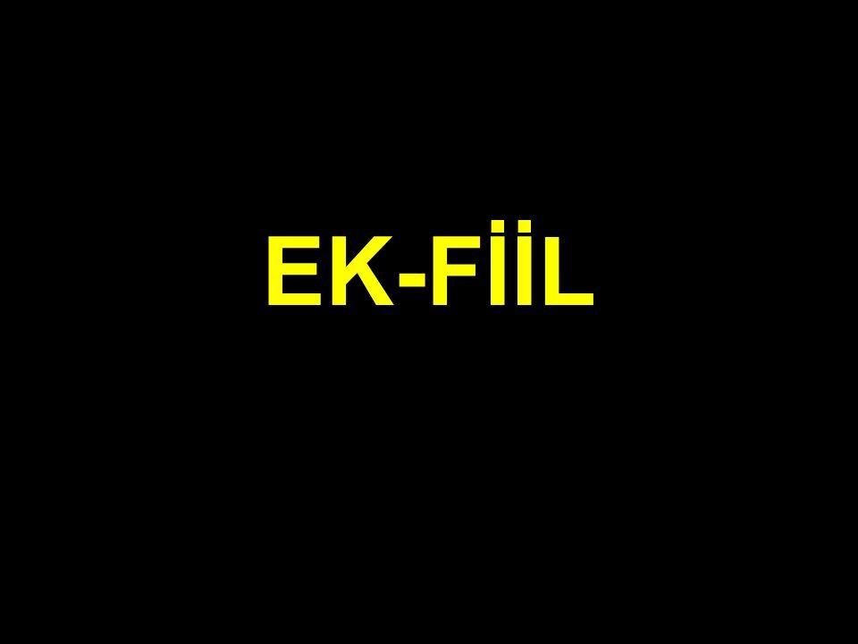 EK-FİİL