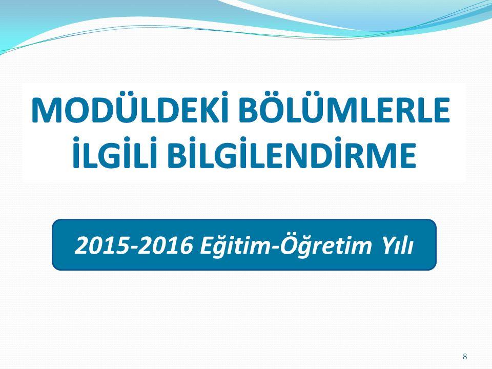 2015-2016 Eğitim-Öğretim Yılı 8