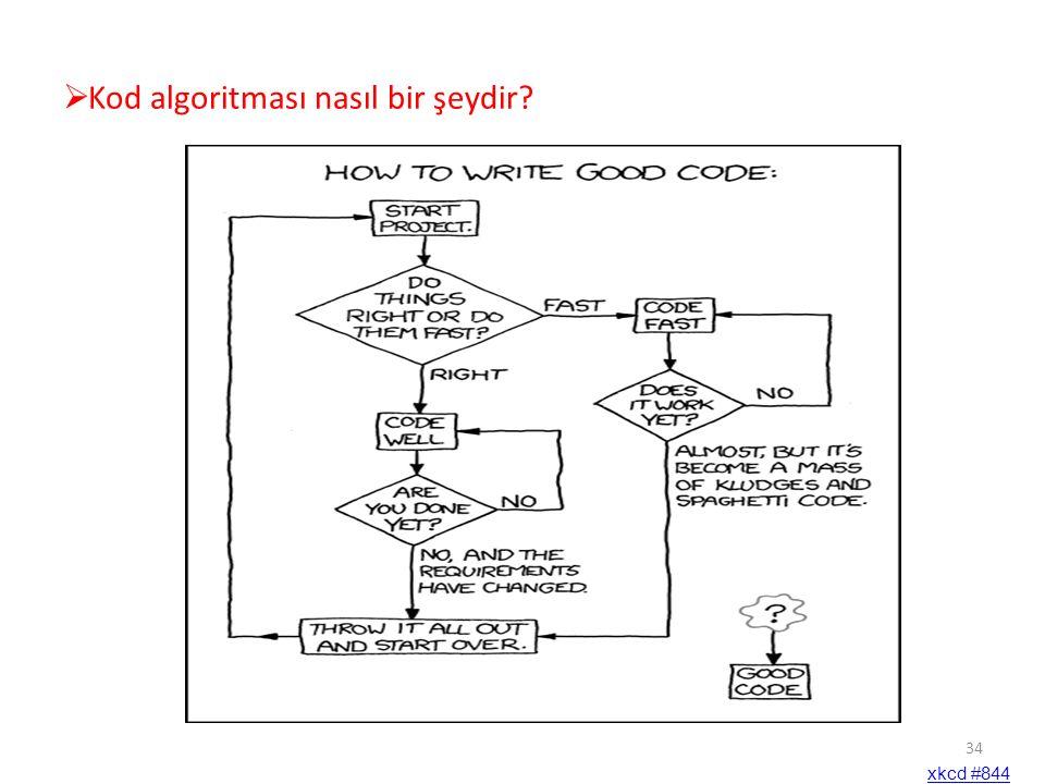 Kod algoritması nasıl bir şeydir? xkcd #844 34