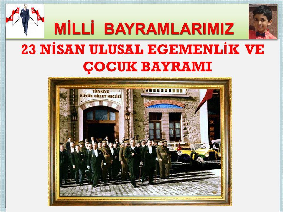 Atatürk'ün 19 Mayıs 1919'da Samsun'a çıkarak Kurtuluş Savaşı'nı başlattığı bugün, ulusumuz için önemli bir gündür.