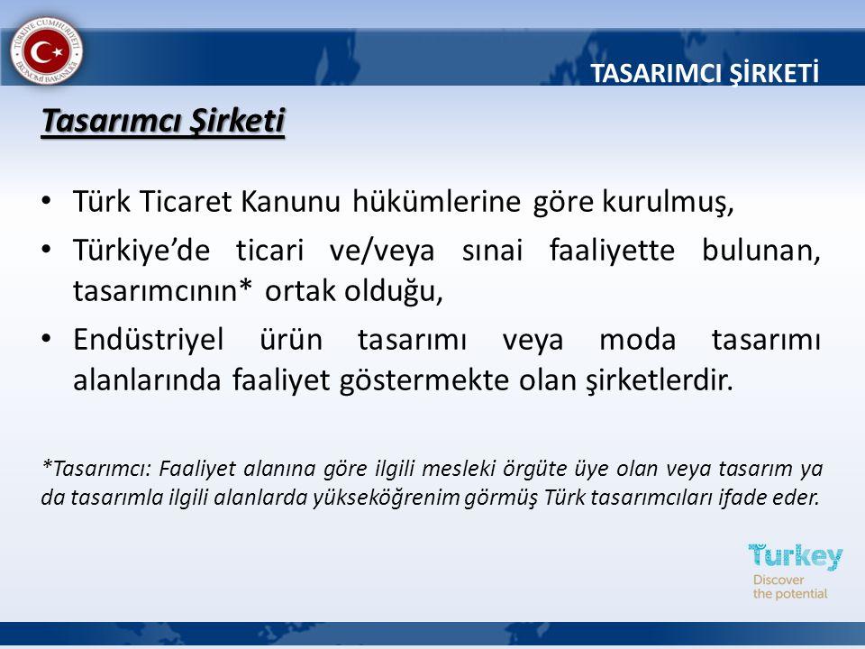 Tasarımcı Şirketi Türk Ticaret Kanunu hükümlerine göre kurulmuş, Türkiye'de ticari ve/veya sınai faaliyette bulunan, tasarımcının* ortak olduğu, Endüs