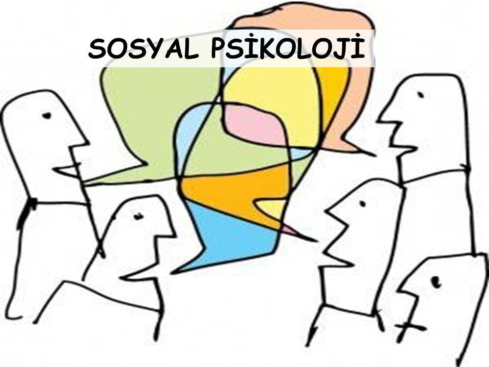 SOSYAL PSİKOLOJİNİN TANIMI VE KONUSU Sosyal psikoloji, kişiler arası ilişkileri ve etkileşimi odak noktası olarak ele alır ve sosyal etkileşimin psikolojik etmenlerini inceler.