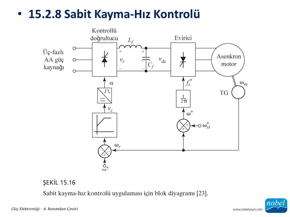 15.2.8 Sabit Kayma-Hız Kontrolü