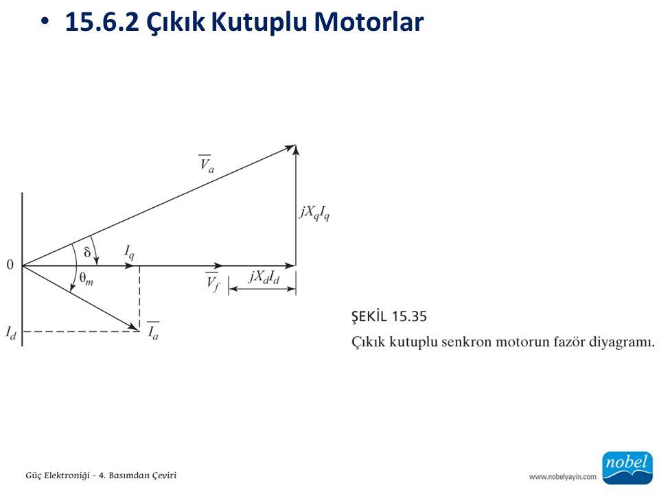15.6.2 Çıkık Kutuplu Motorlar