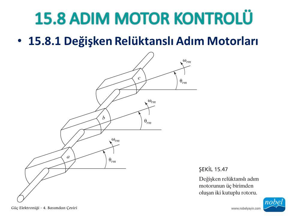 15.8.1 Değişken Relüktanslı Adım Motorları