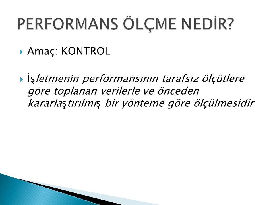Kurumsal Performans Değerlendirme Takıma Dayalı Performans Değerlendirme Bireysel Performans Değerlendirme